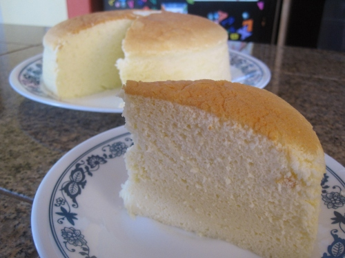 Cotton Soft Japanese Cheesecake Trial #1