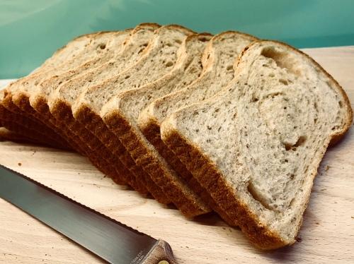 65C Savory Wheat Loaf 65C湯種咸香麥片土司
